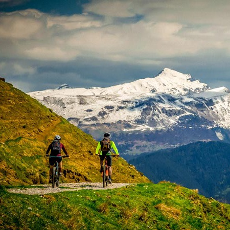 Fitur del pirineo al mar en bicicleta